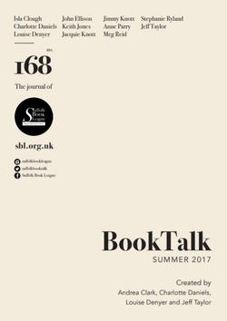 Booktalk edition 168