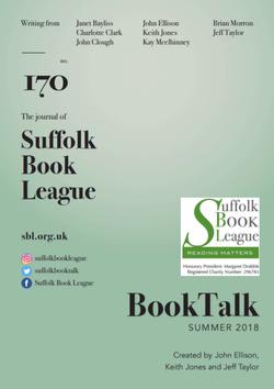 Booktalk edition 170