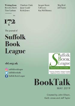 Booktalk edition 172