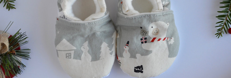 Waku Waku Christmas Shoes - Mr. Polar Bear