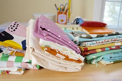 Waku Waku Baby makes baby gifts from colorful and imaginative fabrics