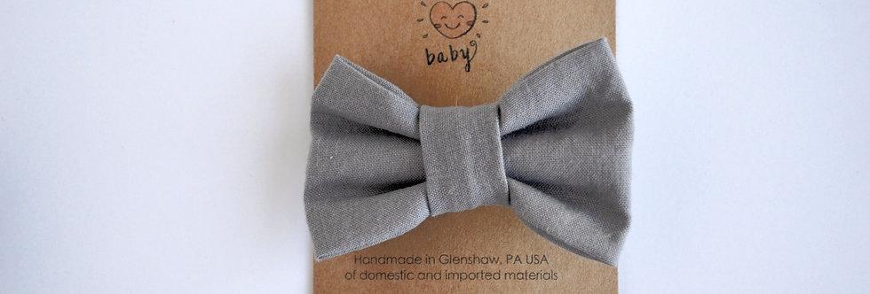 light grey hair bow
