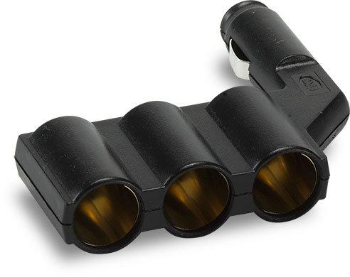 Triple Lighter Plug Adapter
