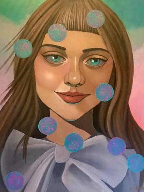 """""""Diurna"""" (Original Painting) by Cleng Sumagaysay"""