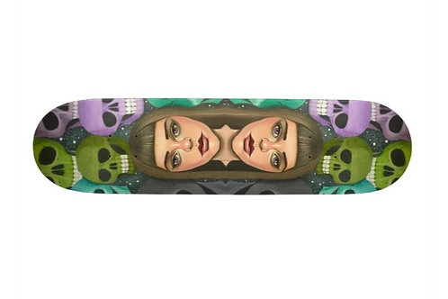 """Immutable"" by Cleng Sumagaysay Skateboard Deck"