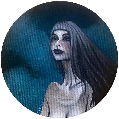 """""""Lola 2"""" (Original Painting) by Cleng Sumagaysay"""