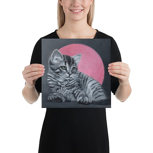 """I'LL PAINT YOU or YOUR PET (12""""x12"""" Canvas Print)"""