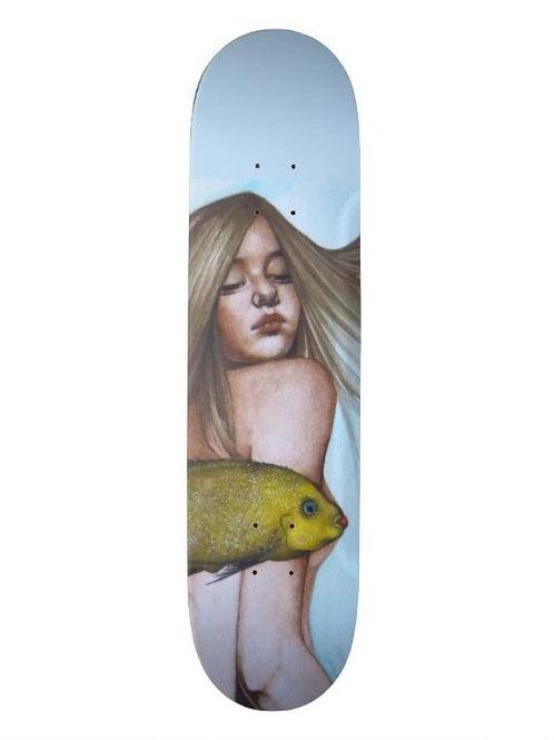 """Oblivion"" by Cleng Sumagaysay Skateboard Deck"
