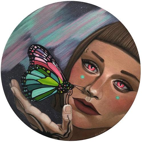 """""""Aurora"""" (Original Painting) by Cleng Sumagaysay"""