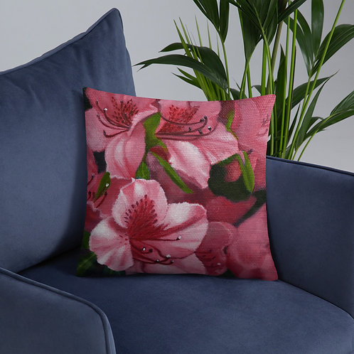 Flower Study Pillow