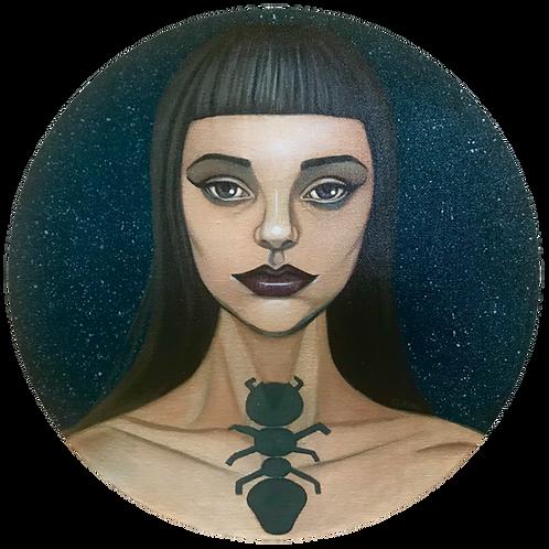 """""""Nocturna 2"""" (Original Painting) by Cleng Sumagaysay"""