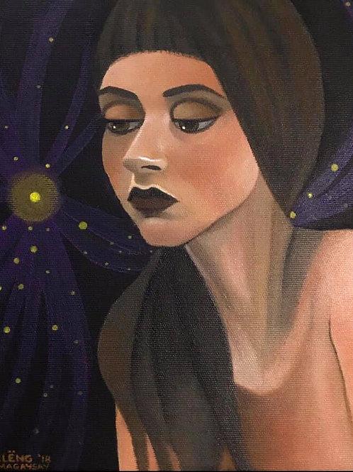 """The Escapist"" (Original Painting) Cleng Sumagaysay"