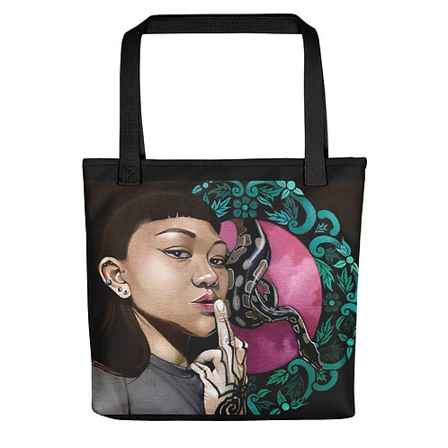 When the Muse Strikes Tote bag