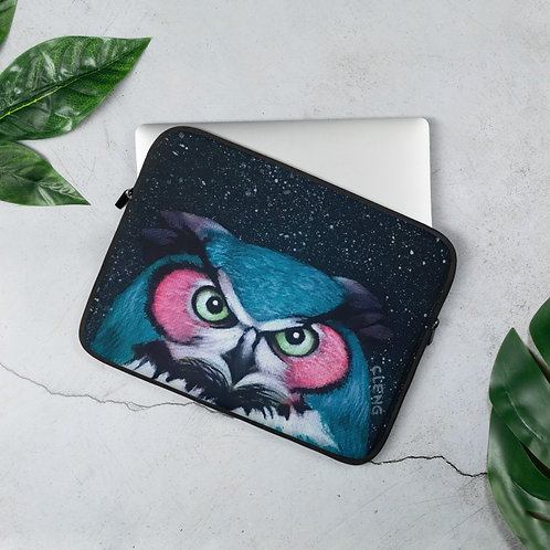 Night Owl Laptop Sleeve