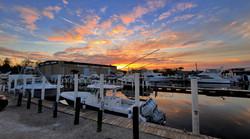 Scipio Creek Sunset