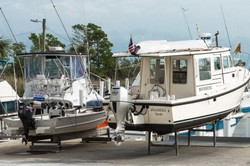 Boats-at-Scipio-Creek-Marina-in-Apalchic