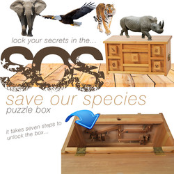 Save Our Species Puzzle Box
