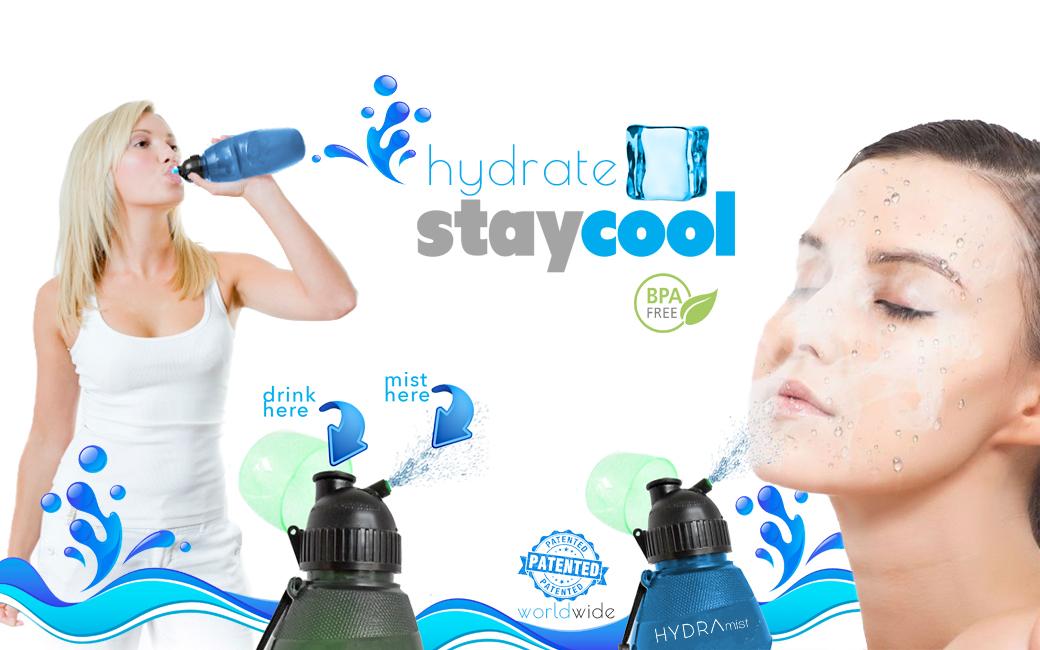 Misting Water Bottles