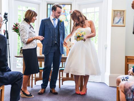 Emily and Luke's wedding in Ovington