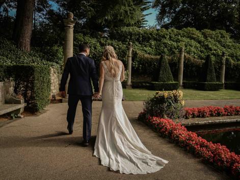 Tanya & Paul's wedding at The Italian Villa