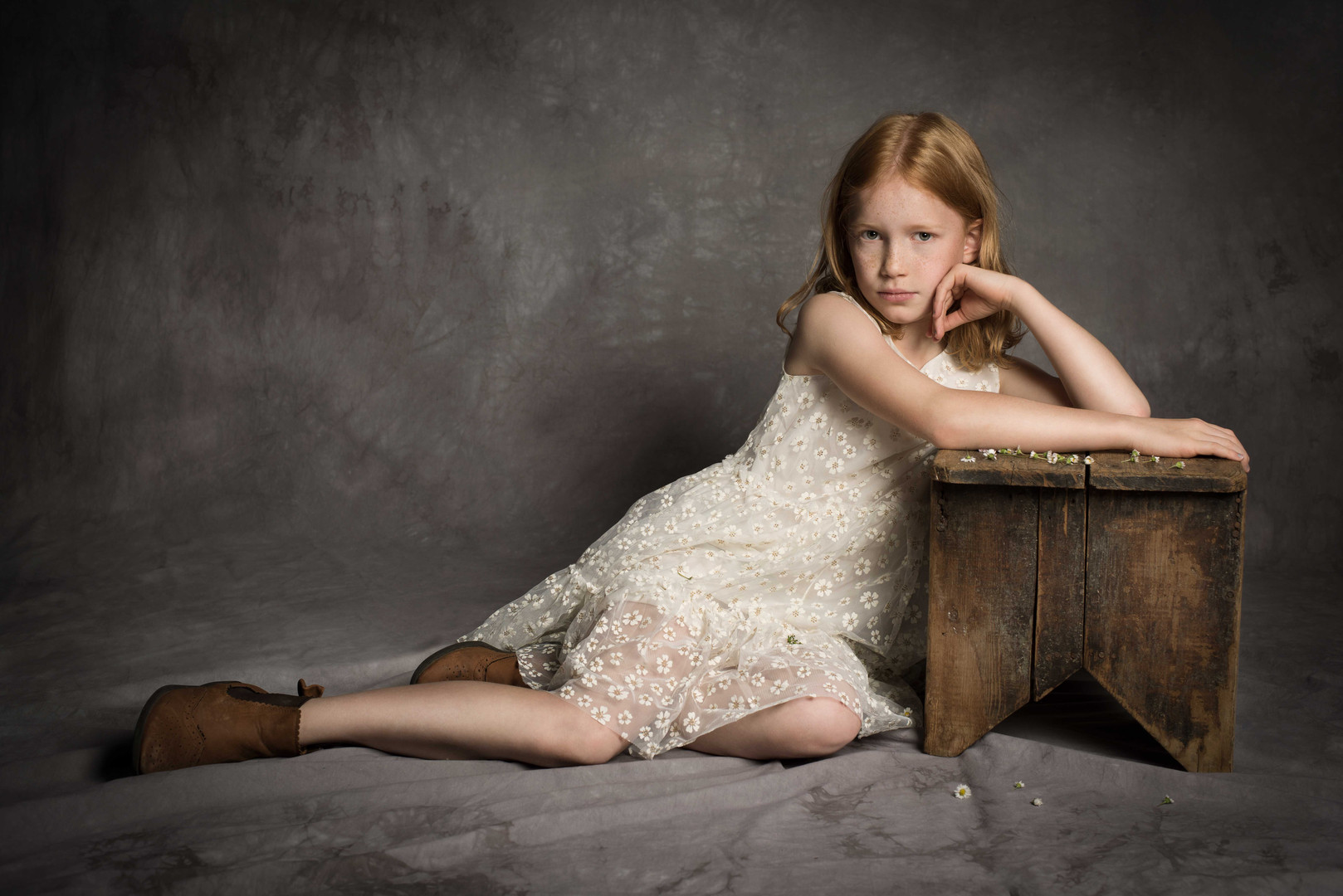Children's fashion portrait
