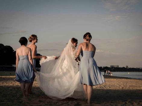 Sophie & Sam's beautiful beach wedding