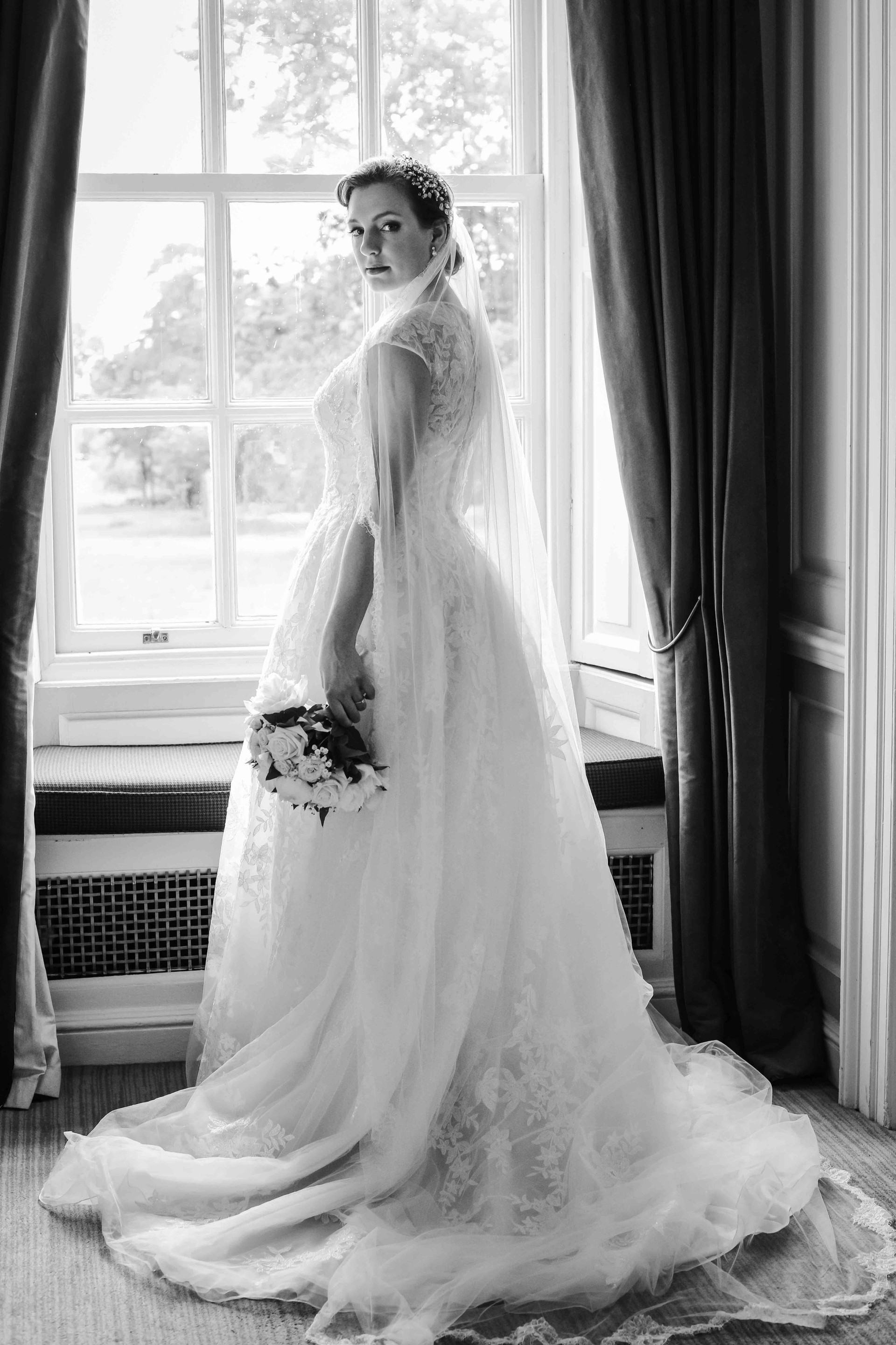 Bride at Warbrook House