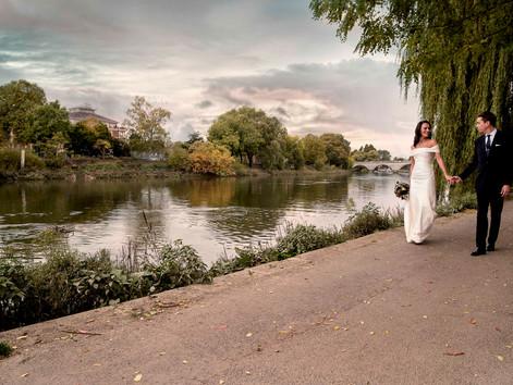 Alba and Andy's Richmond Wedding