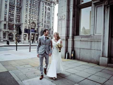 Jo and Dima's Liverpool wedding