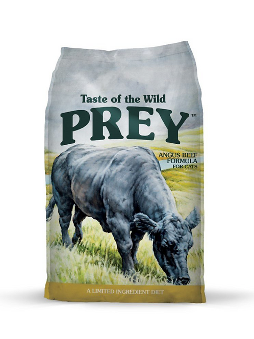 Taste of the Wild PREY Angus Beef Formula for Cats, 6lb