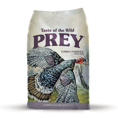 Taste of the Wild PREY Turkey Limited Ingredient Formula for Cats, 6 lb
