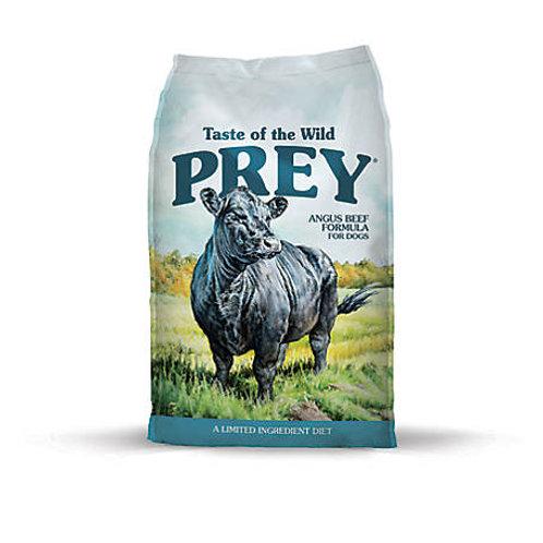Taste of the Wild PREY Angus Beef Limited Ingredient Dry Dog Food