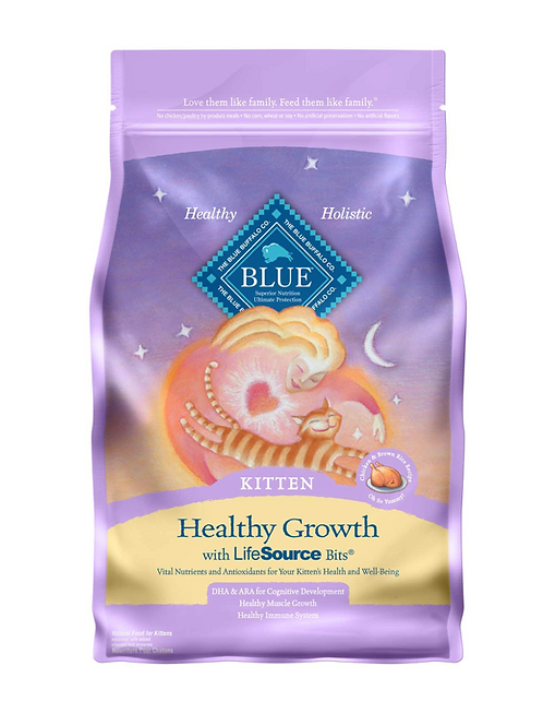 BLUE Healthy Growth Cat Food