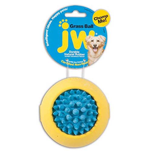 JW Pet Grass Ball Dog Toy