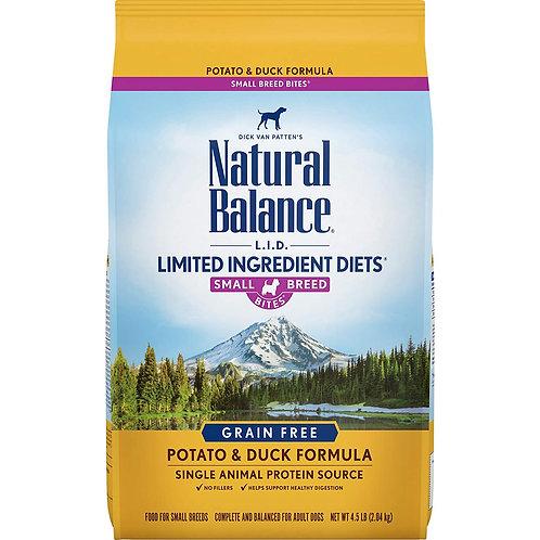 Natural Balance L.I.D. Potato & Duck Formula Small Breed Bites