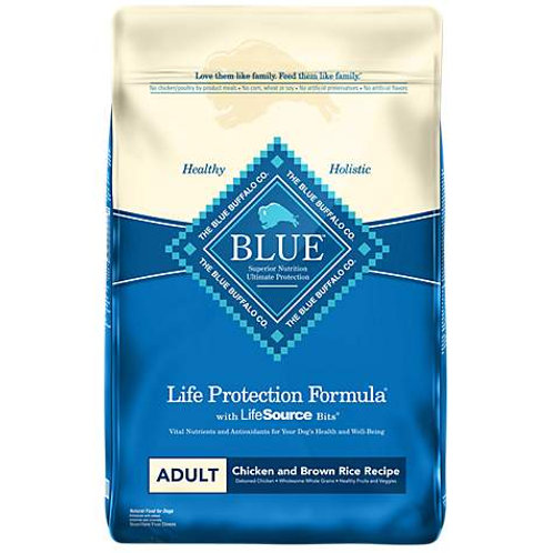 Blue Buffalo Life Protection Formula Adult Chicken & Brown Rice Recipe Dry Dog F