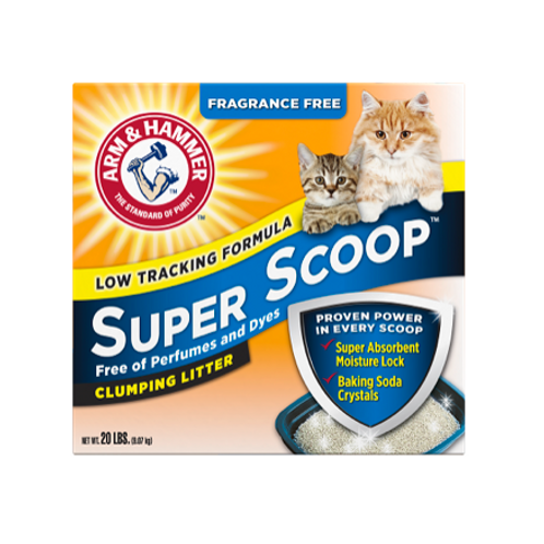 ARM & HAMMER™ ARM & HAMMER™ Super Scoop™ Clumping Litter, Fragrance Free
