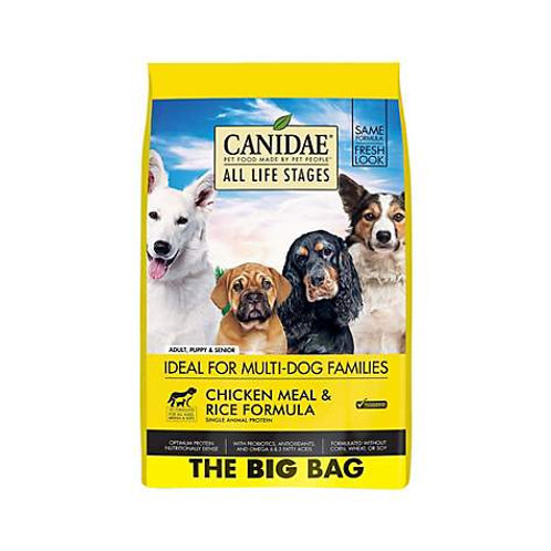 CANIDAE All Life Stages Chicken Meal & Rice Formula Dry Dog Food