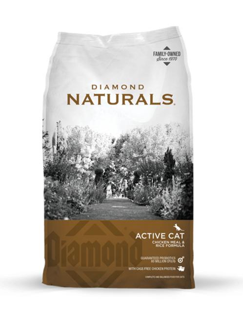 Diamond Naturals Active Cat Chicken Meal & Rice Formula