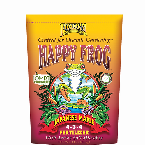 Happy Frog Japanese Maple Fertilizer, 4lb