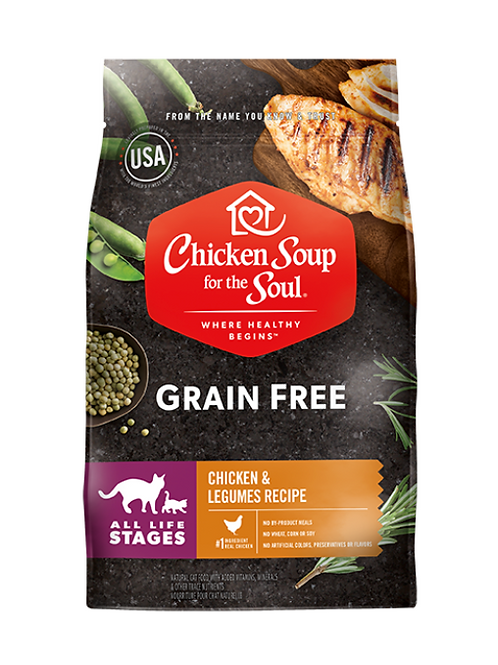 Chicken Soup for the Soul Grain Free Cat Food - Chicken & Legumes