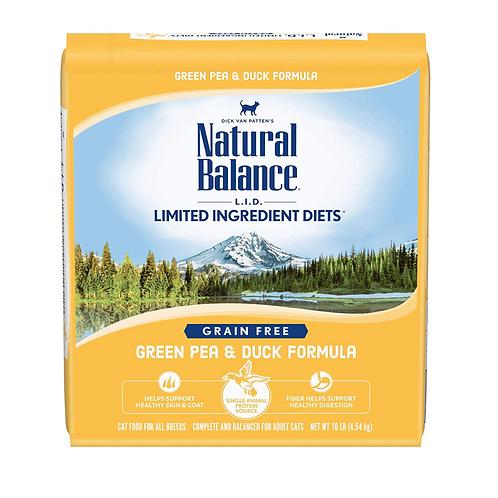 Natural Balance L.I.D. Green Pea & Duck Formula Grain-Free Cat Food