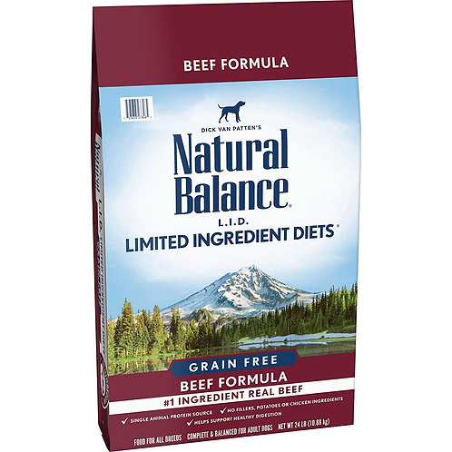 Natural Balance Limited Ingredient Diets Beef Formula Grain-Free