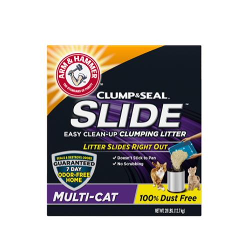 ARM & HAMMER™ SLIDE™ Easy Clean-Up Clumping Litter, Multi-Cat