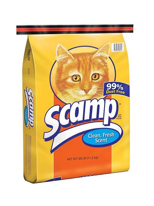 Scamp Scoop Fresh Scent Cat Litter