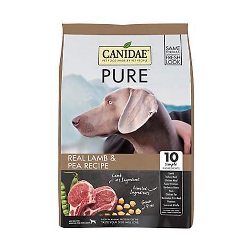 CANIDAE Grain-Free PURE Real Lamb & Pea Recipe Dry Dog Food
