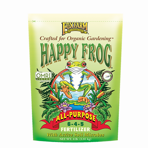 Happy Frog All-Purpose Fertilizer, 4lb