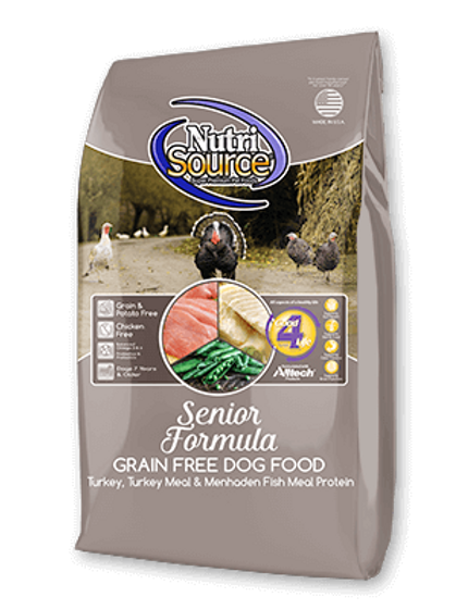 NutriSource Grain Free Senior Recipe Dry Dog Food