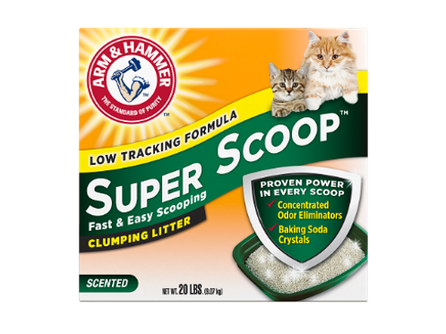 ARM & HAMMER™ ARM & HAMMER™ Super Scoop™ Clumping Litter, Fresh Scent