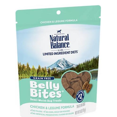 Natural Balance Limited Ingredient Diets Belly Bites Chicken & Legume Treats